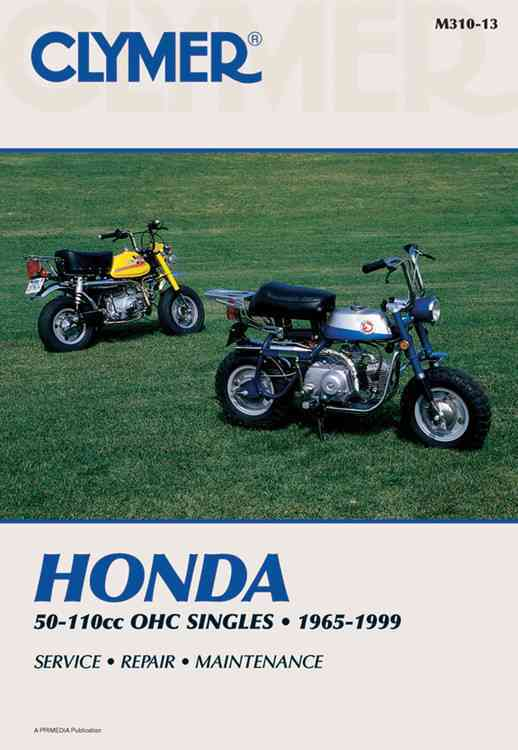 Clymer Honda 50-110Cc Ohc Singles, 1965-1999 By Clymer Publications